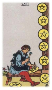 Eight of Pentacles